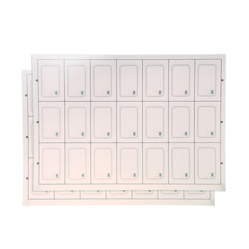 Factory price UHF 860-960mhz LF Layout 5*5 4*6 PVC Rfid Card Inlay Sheet