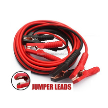 jumper cable clamps auto booster cables gauge vehicle booster cable