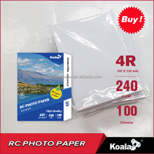premium 260gsm RC satin photo paper A4