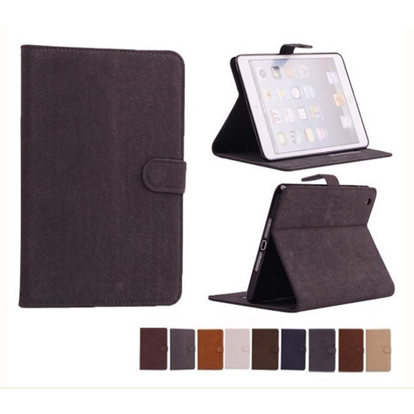 small moq tablet leather case for ipad mini / air / 2 /3/4/5 cover
