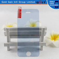 High Strength Anti-Scratch Temper Glass Film For Iphone 5S Glod Touch Screen Protector