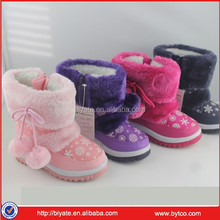 2016 update Warm Wearing Girl Snow Boots