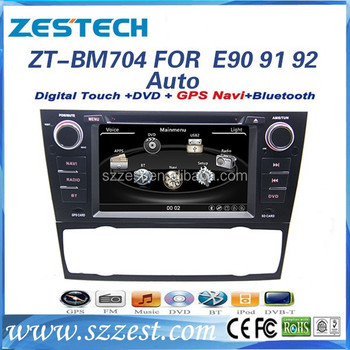 ZESTECH 2 dins 7 inch android 4.0 car dvd gps for BMW E90 E91 E92