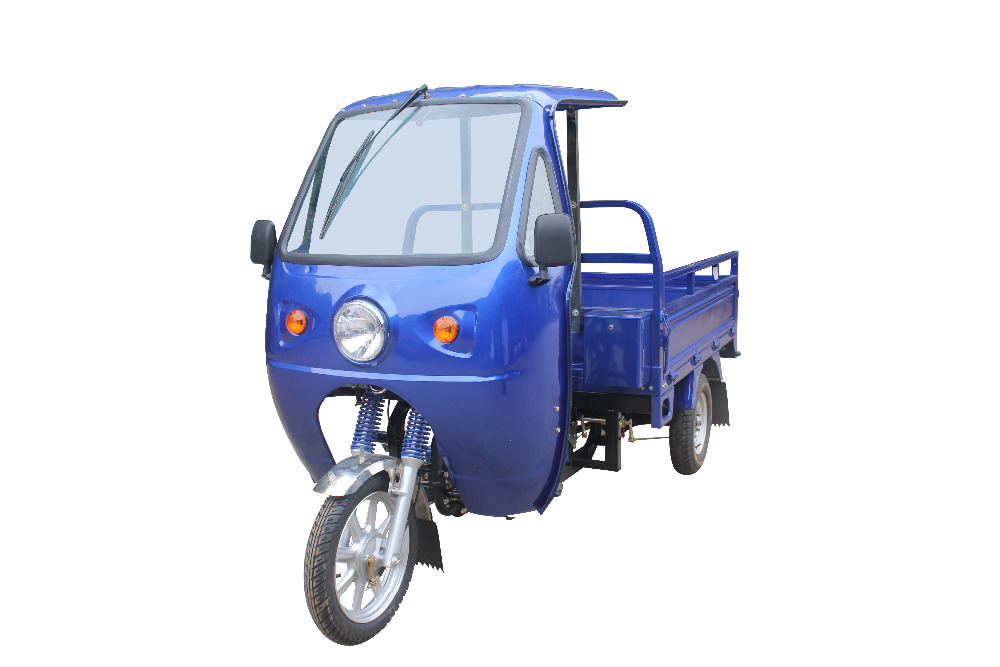 Cargo tricycle with cabin, good carrier with competitive price 3 wheel motorcycle