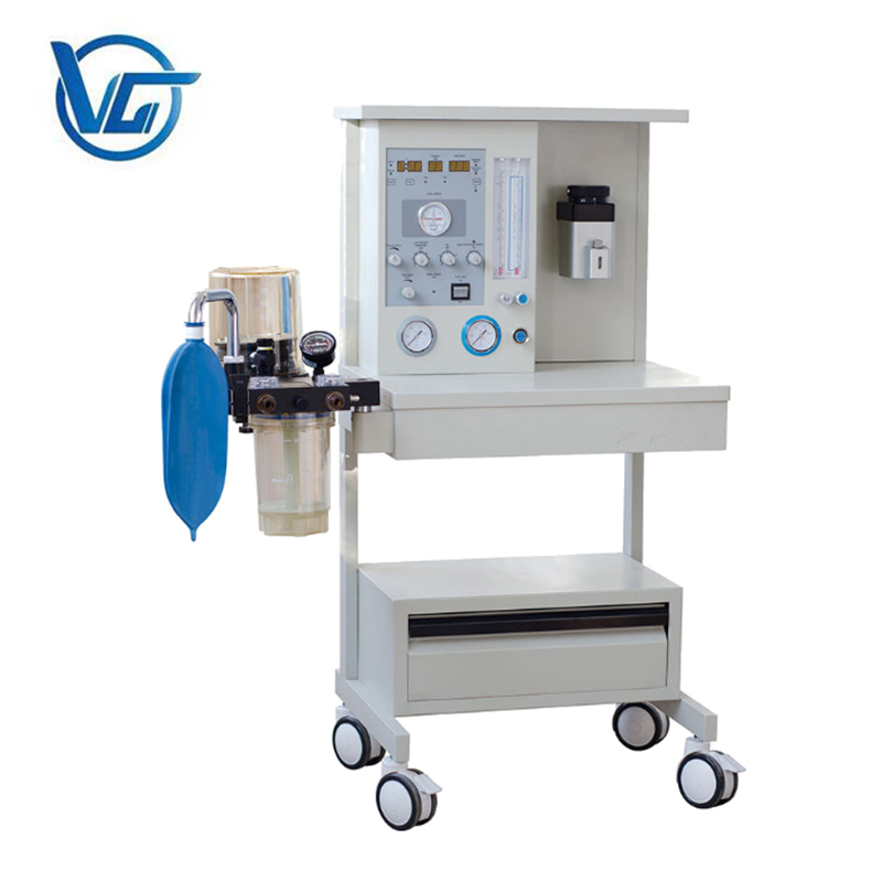 Cheap price multi-function medical anesthesia machine with ventilator