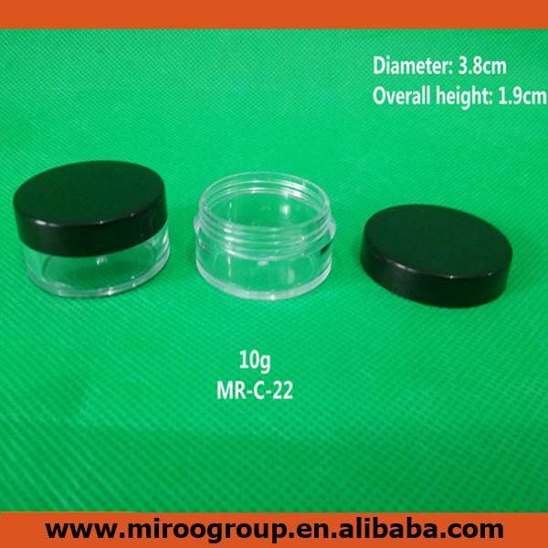 2014 wholesale empty plastic deodorant container for cosmetic package