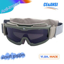 Military supply hot sale tactical goggles military supply equipment eyewear paintball goggles guangzhou military goggles
