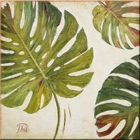 Banana leaves home wall picture
