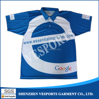 Sublimation Short Sleeve Polo Shirts