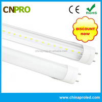 high brightness 4ft t8 18w led tube light for clothing factory ce rohs fcc