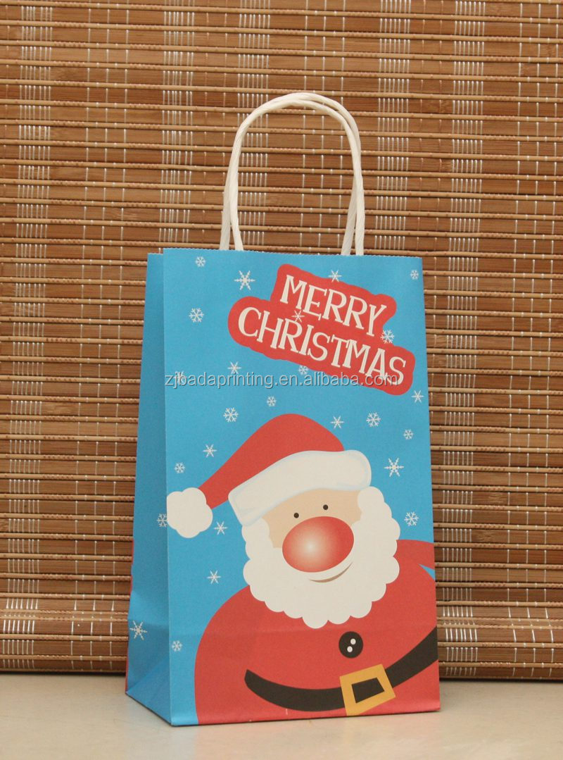 Eco-friendly Kraft Paper Bag/Paper Gift Bag/ christmas paper bag