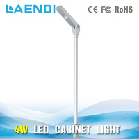 Up & down head standing adjustable height led under jewelry counter light
