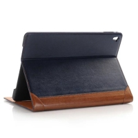 CA658 Factory Price Oil Wax PU Leather Wallet Stand Case for iPad Pro 9.7 inch Tablet Leather Cover