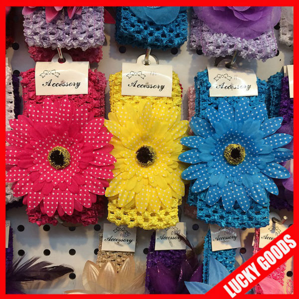 wholesale beautiful flower head band