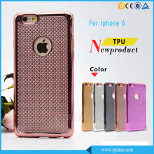 Alibaba Express Raised Phone Case For Iphone6, Bulk Buy From China Luxury Soft Electroplate TPU Case For Iphone 6/6S Case