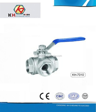 "1"" 316 T/L TYPE THREE WAY BALL VALVE"
