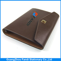 New design Pu leather writing dairy note book binding