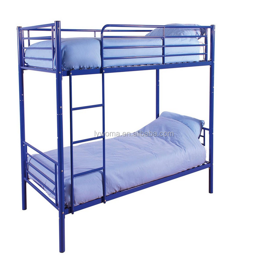 2016 cheap bunk beds with mattresses/colorful child bunk bed/factory price for cheap plastic