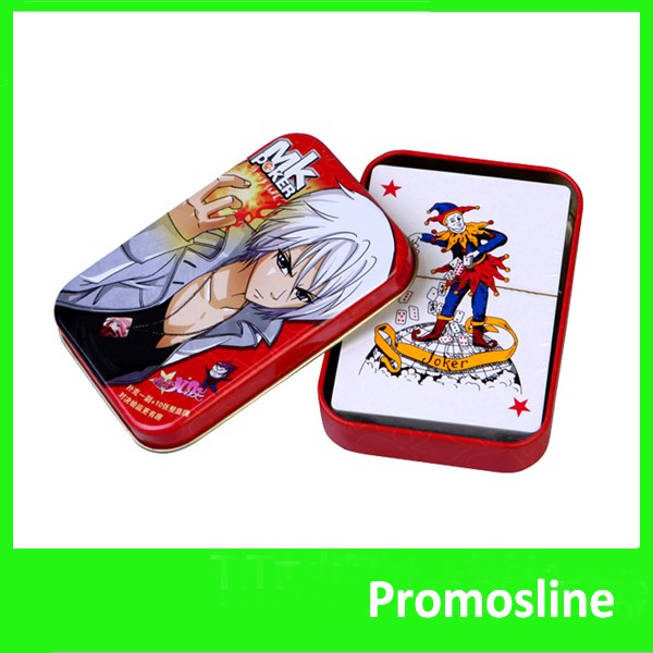 Hot Sell custom promotion play card print playing cards on a printer