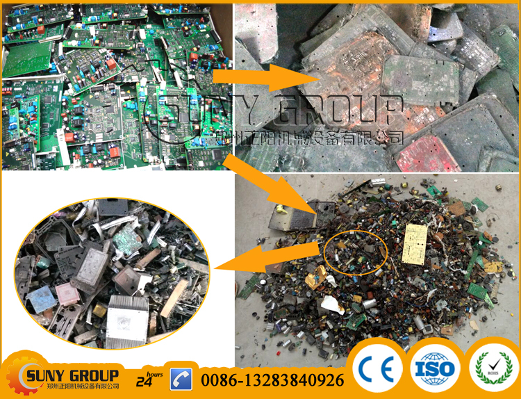 Computer board PCB dismantling and Components removal machine