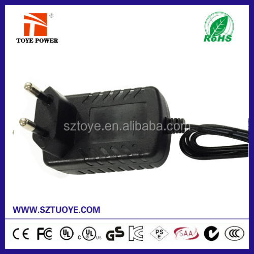 Japanese / European AC DC Wall Power Source Power Adapter 9v 2.5a ac adapter For Set Top Box