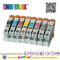 Compatible canon PIXMA PRO-100 printer cli-42 ink cartridge with chip