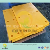 Rigid HDPE sheet/ Boat Fender panels/ colored various size plastic pad