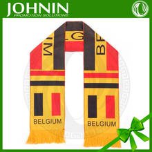 Promotion big football advertising belgium fans scarf