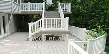 Wood Composite Decking White