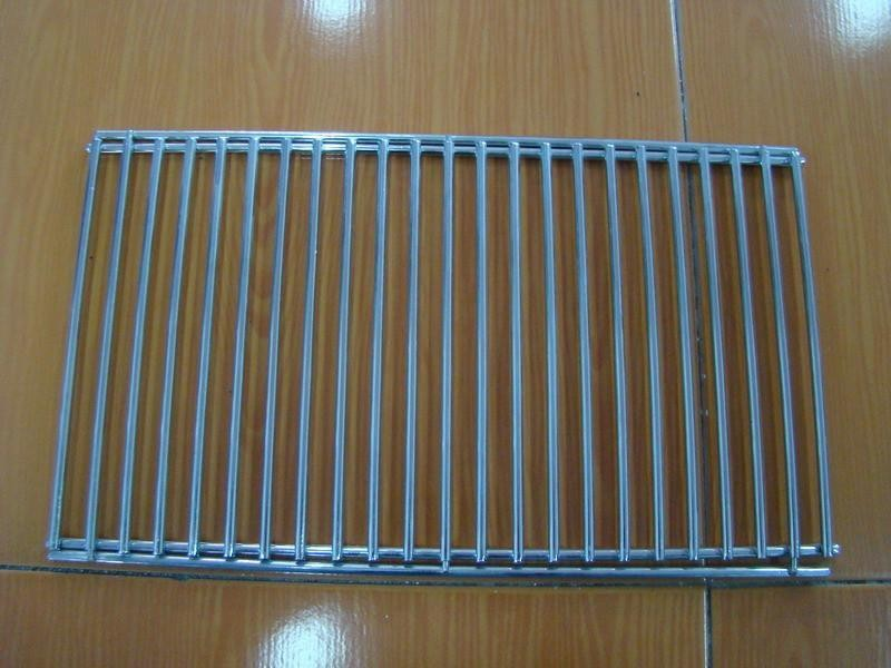 Stainless Steel Material Double Barebecue bbq Grill Net