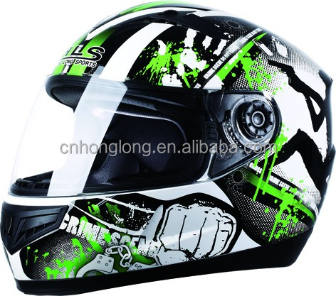 DP-808 Full Face Lightweight Motorcycle Motorbike Helmet with DOT
