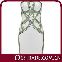 2014 hot white strapless cocktail dresses for teens without sleeves