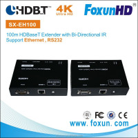 Factory Supply HDMI Home Theater System 100m HDbaseT Extender, 4k2k with Ethernet, HDCP