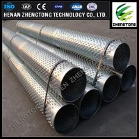 OD 325mm deep water well drilling Bridge Type filter screen pipe