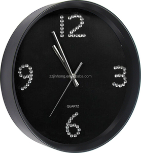Luxury Wall Clock Stick Acrylic Diamond Dial Wall Clock