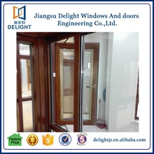 2016 alibaba supplier aluminium wood window carving for house