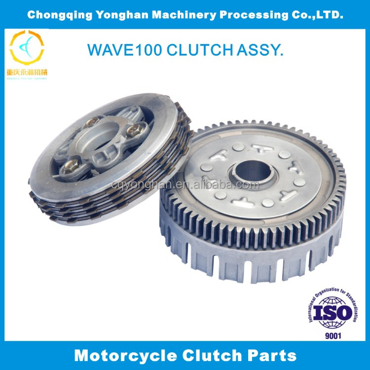 wave100 China Frictional Secondary Clutch Assy. Repuestos Bajaj India