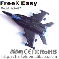 2015 promotional pretty computer mouse airplane shape mouse