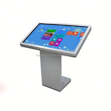 Standing Alone Multimedia Kiosk lcd video display to advertise in retail stores
