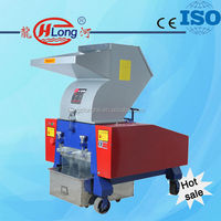 Plastic recycling equipment rubber garbage shredder for sale
