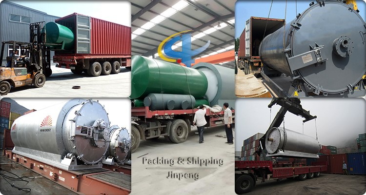Second Hand Truck Tires Recycling and Refining Continuous Pyrolysis Machine