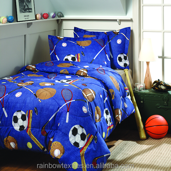 100% polyester 3d cartoon comforter full set