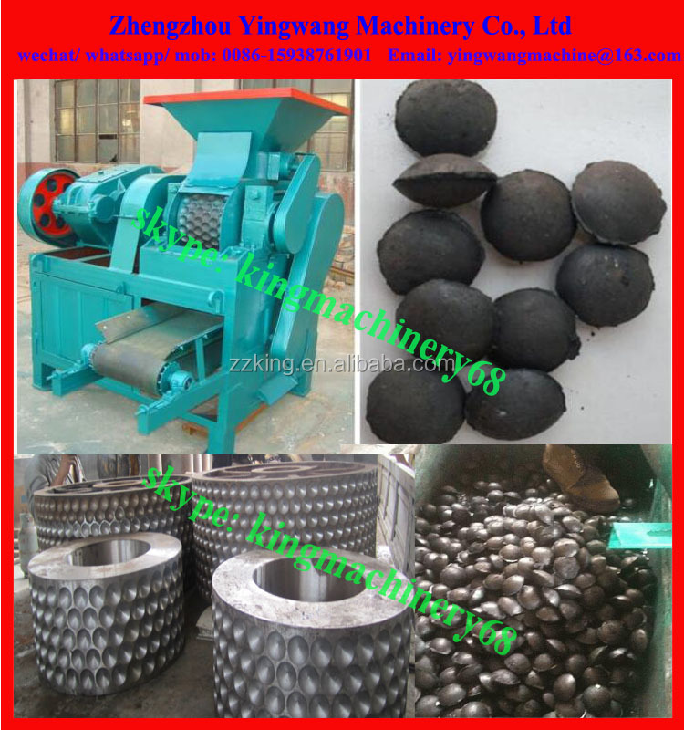 ball shaped charcoal briquette machine