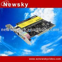 Auto Scan Analog PCI TV Capture Card TV7133