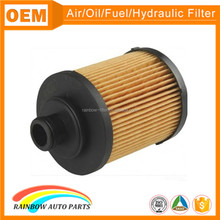 High quality plastic cap 93186856 auto oil filter paper
