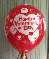 Valentine day supply 5 sides printed inflatable ballon