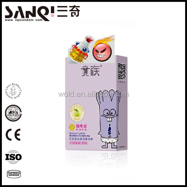 Good quality spike chinese condom factory