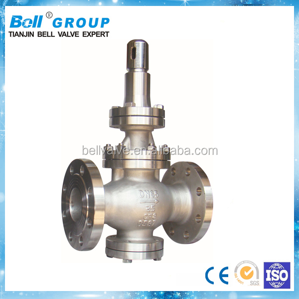 DN80 Piston Pressure Reducing Valve / Stainless Steel PRV Valve
