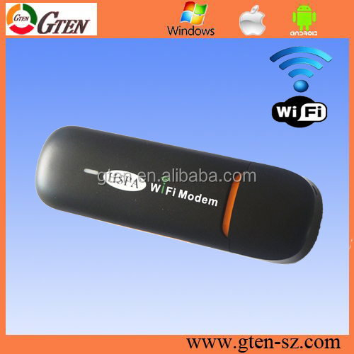 hsdpa 7.2Mbps mobile wlan router 3g modem wifi tp link