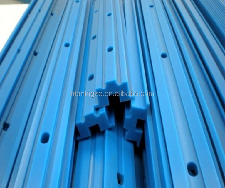 Customized CNC Nylon Uhmwpe linear guide <strong>rail</strong>